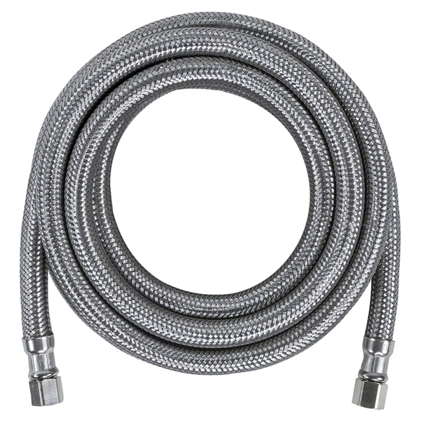 Certified Appliance Accessories(R) IM120SS Braided Stainless Steel Ice Maker Connector, 10ft