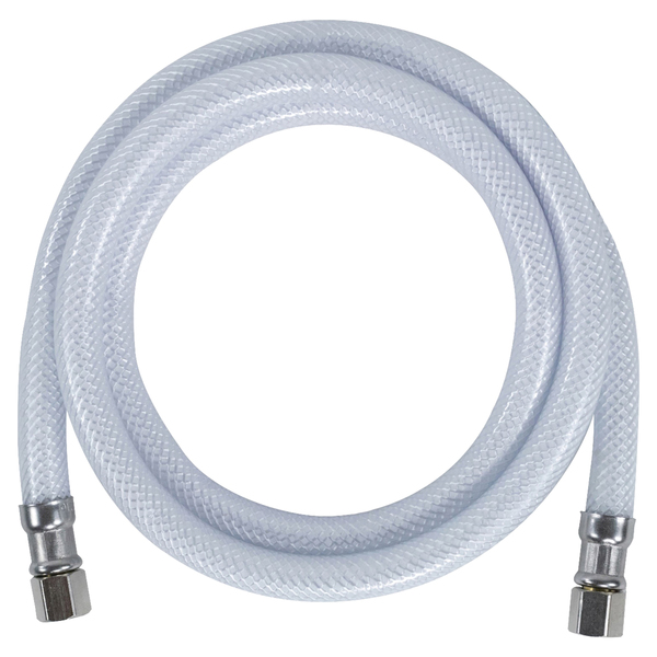 "Certified Appliance Accessories(R) IM48P PVC Ice Maker Connector with 1/4"" Compression, 4ft"