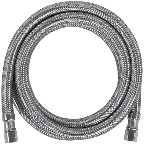 Certified Appliance Accessories(R) IM60SS Braided Stainless Steel Ice Maker Connector, 5ft