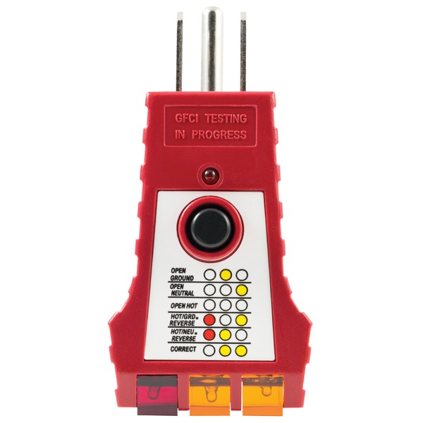 GE(R) 50957 110V-125V GFCI Tester