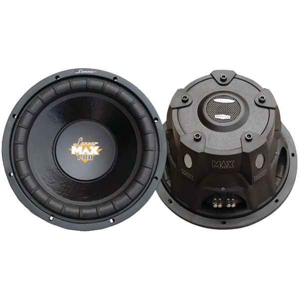 "Lanzar(R) MAXP64 MaxPro Series Small 4ohm Subwoofer (6.5"", 600 Watts)"