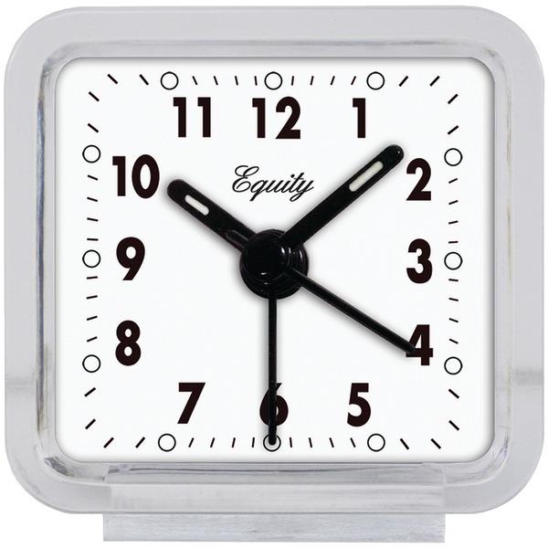 Equity(R) by La Crosse 21038 Clear Quartz Alarm Clock