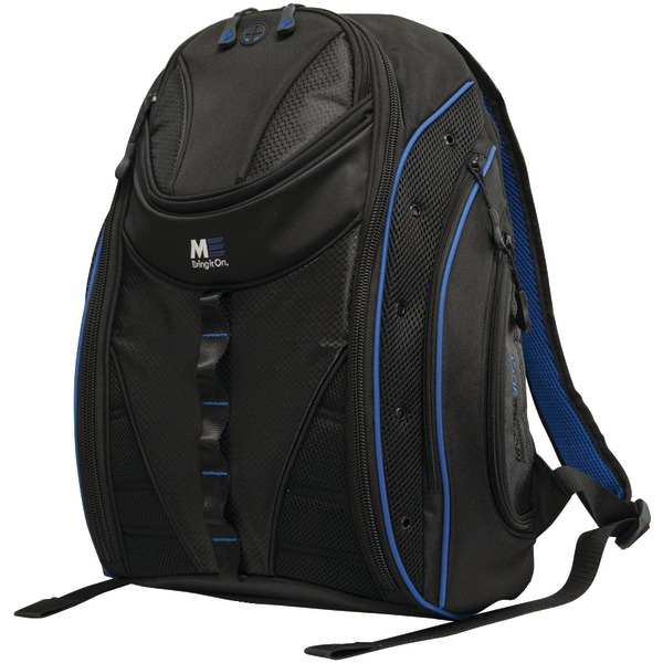 """Mobile Edge(R) MEBPE32 16"""" PC/17"""" MacBook(R) Express 2.0 Backpack, Royal Blue"""