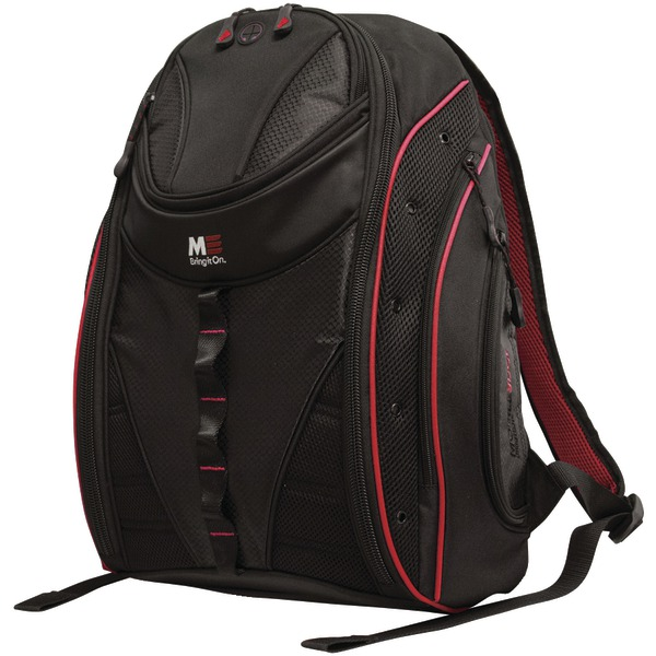 """Mobile Edge(R) MEBPE72 16"""" PC/17"""" MacBook(R) Express 2.0 Backpack, Red"""