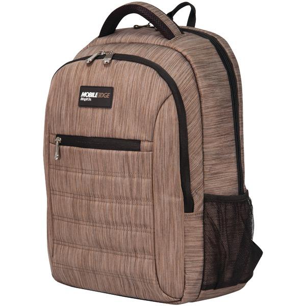"""Mobile Edge(R) MEBPSP8 15.6"""" SmartPack Backpack (Wheat)"""