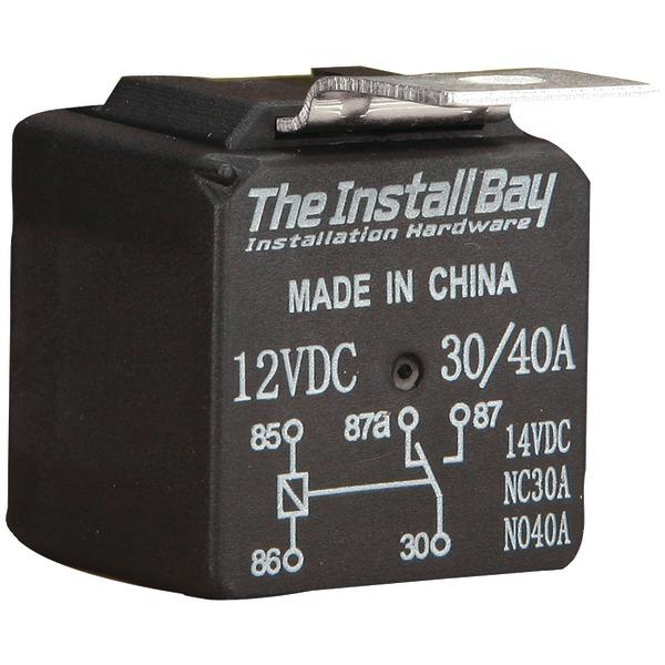 Install Bay(R) RL3040 30-Amp/40-Amp Economy Relay