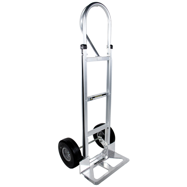 Monster Trucks(TM) MT20008 Aluminum Hand Truck with Foam Rubber Tires (Loop Handle)