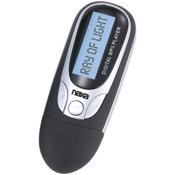Naxa(R) NM105BK 4GB MP3 Player with FM Radio (Black)