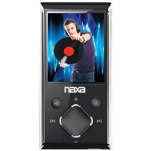 "Naxa(R) NMV173NSL 8GB 1.8"" LCD Portable Media Players (Silver)"