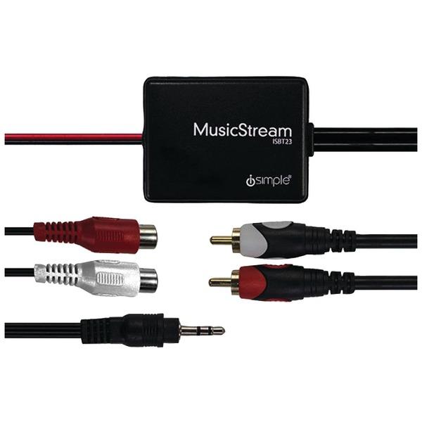 iSimple(R) ISBT23 MusicStream Bluetooth(R) Audio Receiver