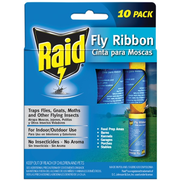 raid fly ribbon instructions