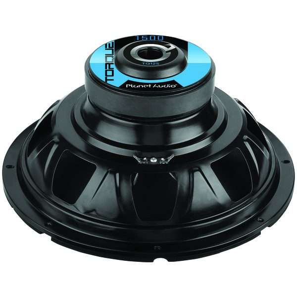 "Planet Audio(R) TQ12S Torque Series Single Voice-Coil Subwoofer (12"", 1,500 Watts)"