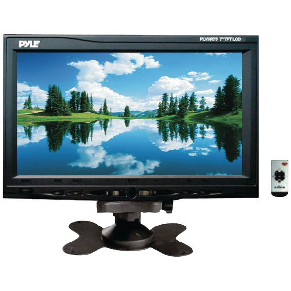 "Pyle(R) PLVHR75 7"" Headrest Monitor with Stand & Headrest Shroud"