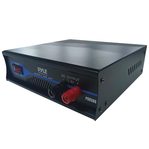 Pyramid(R) Car Audio PSV300 30-Amp Heavy-Duty Switching Power Supply with Cooling Fan