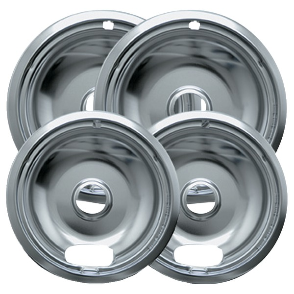 Range Kleen 10142XN Universal Chrome Drip Pans, Style A, Multi pk at Sears.com