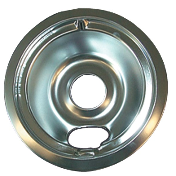 Range Kleen Range Replacement Bowls & Knobs - GE / Hotpoint Chrome Drip Pan, Style B - PTR at Sears.com