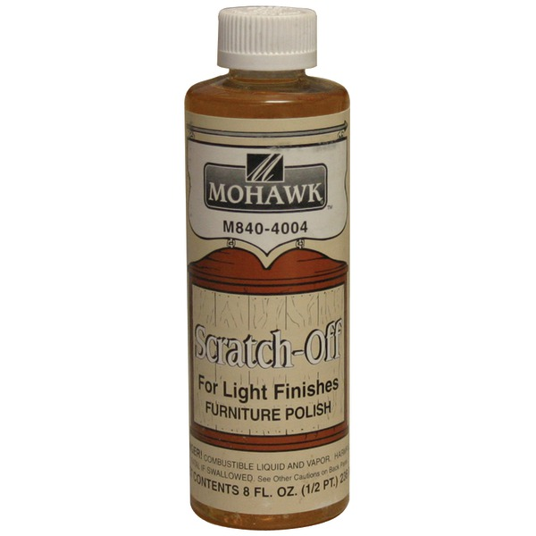 Mohawk(R) Finishing Products M840-4004 Liquid Scratch-Off(TM) Cover for Medium & Light Woods