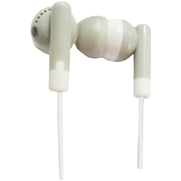 Supersonic(R) IQ-101 GREY IQ-101 Digital Stereo Earphones (Gray)
