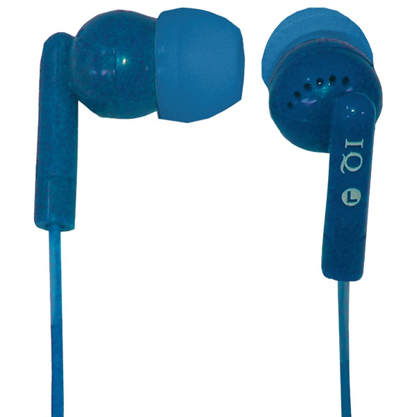 Supersonic(R) IQ-106 BLUE Porockz Stereo Earphones (Blue)