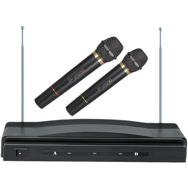 Supersonic(R) SC-900 Professional Dual Wireless Microphone System