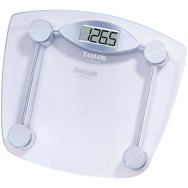 Taylor 7506 Chrome Gl Lithium Digital Scale