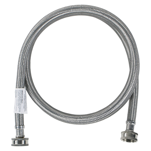 Certified Appliance Accessories(R) WM72SS Braided Stainless Steel Washing Machine Hose, 6ft
